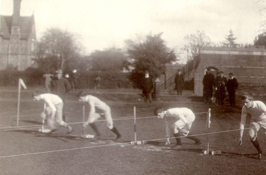 Rugby School sports.  1907 |  IMAGE LOCATION: (Rugby Library)