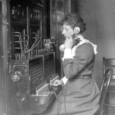 Rugby.  First telephone operator