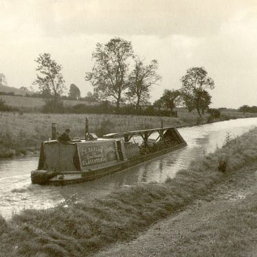 Hillmorton.  Oxford Canal boat