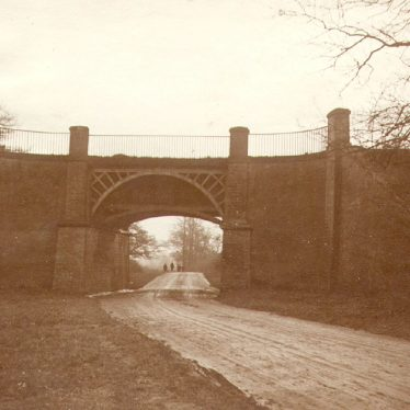 Rugby.   Leicester Road, canal aqueduct