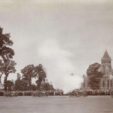 Rugby.  King George V coronation celebrations