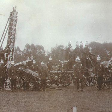 Rugby.  B.T.H. fire brigade