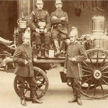 Rugby.  Volunteer Fire Brigade