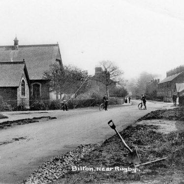 Bilton.  Street scene