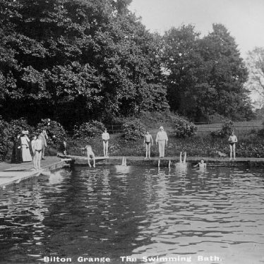 Bilton Grange.  Swimming bath