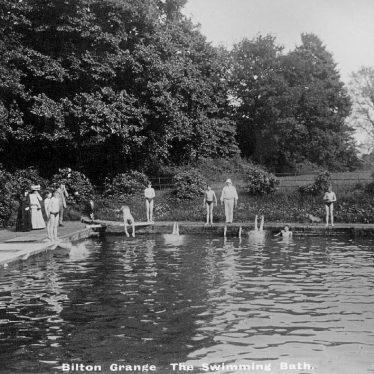 Bilton Grange.  Swimming bath