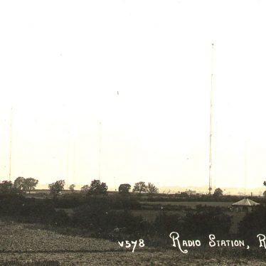 Hillmorton.  Rugby Radio Station
