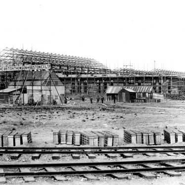 Rugby.  B.T.H. Works under construction