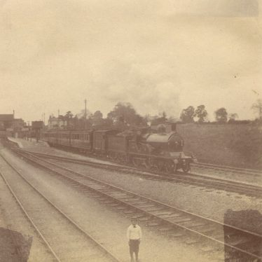 Rugby.  Railway Station