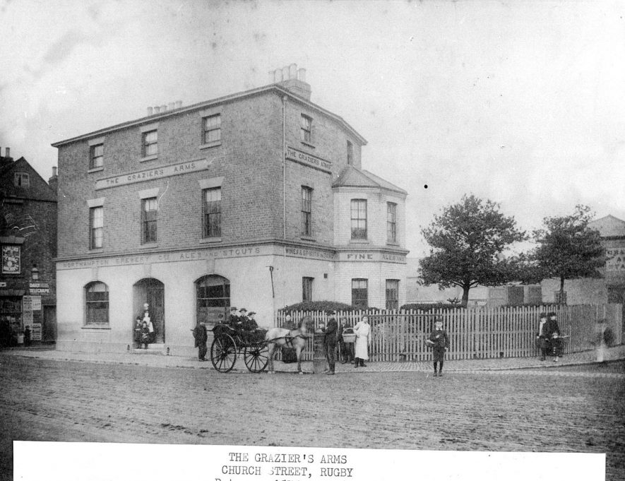 Rugby.  Grazier's Arms |  IMAGE LOCATION: (Rugby Library)