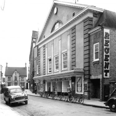 Rugby.  Bank Street, Regent Cinema