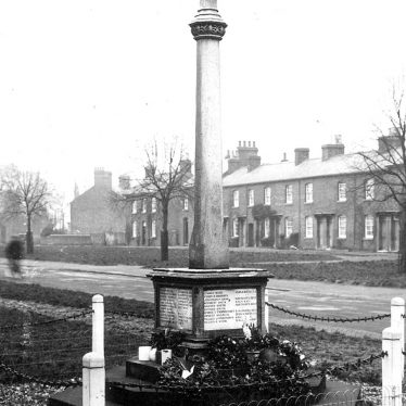 Hillmorton.  War memorial