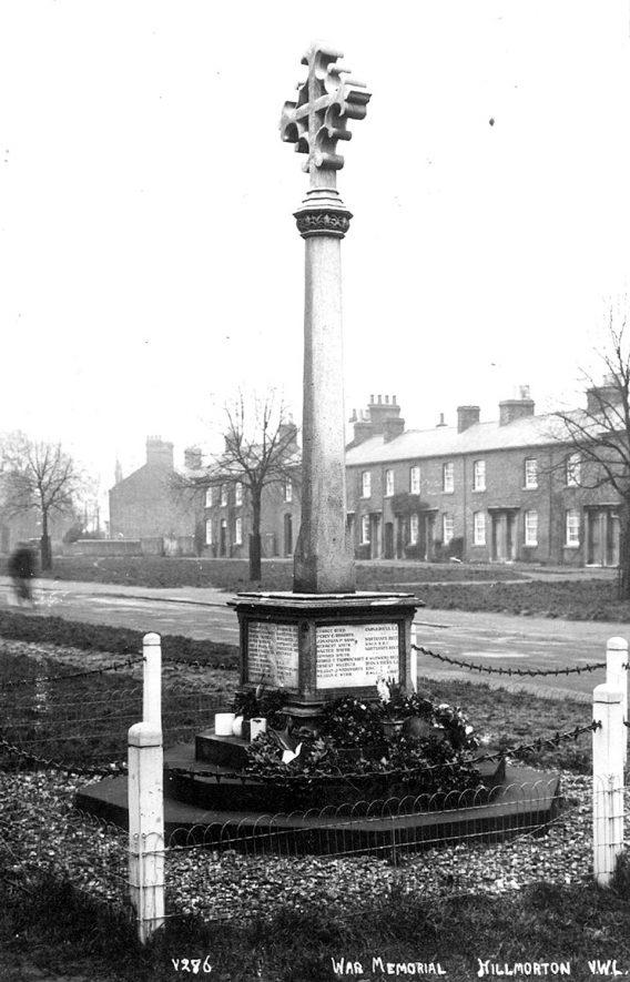 Hillmorton War memorial.  1921 |  IMAGE LOCATION: (Rugby Library)