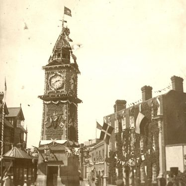 Rugby.  Clock Tower