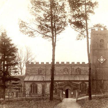 Newbold on Avon.  Church