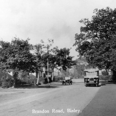 Binley.  Brandon Road