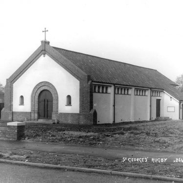 Rugby.  St George's Church