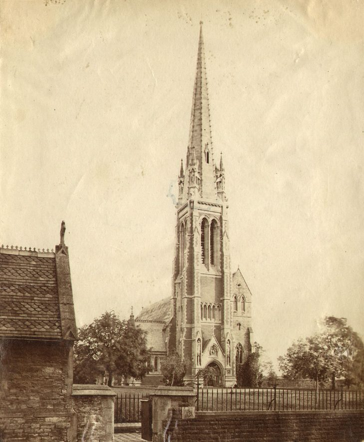 St Marie's Roman Catholic Church, Rugby.  1890s |  IMAGE LOCATION: (Rugby Library)