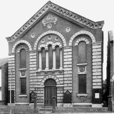 Rugby.  Methodist church