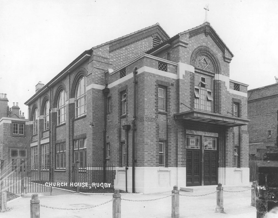 St Andrew's Church House, Rugby.  1940s |  IMAGE LOCATION: (Rugby Library)
