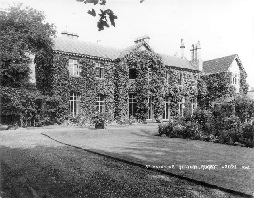 St Andrew's Rectory, Clifton Road, Rugby.  1950s |  IMAGE LOCATION: (Rugby Library)