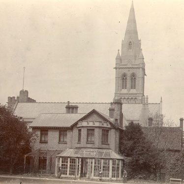 Rugby.  St Andrew's Church and rectory