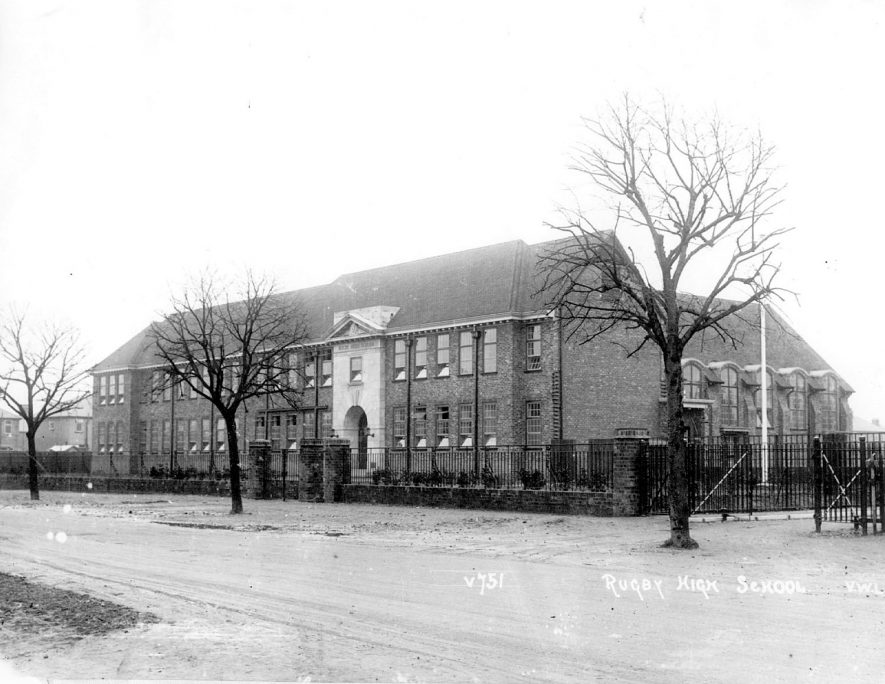 Rugby High School for Girls in Clifton Road, Rugby.  1927 |  IMAGE LOCATION: (Rugby Library)