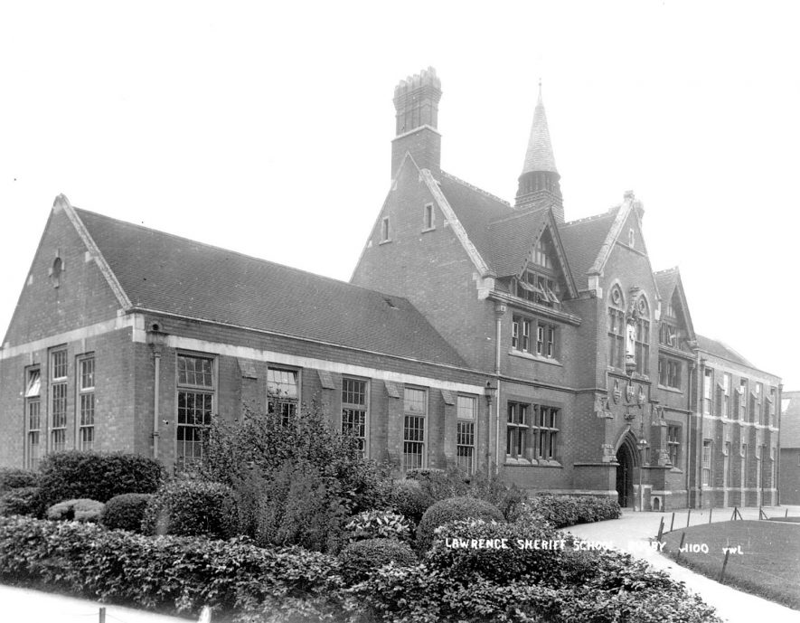 Lawrence Sheriff School, Rugby.  1932 |  IMAGE LOCATION: (Rugby Library)