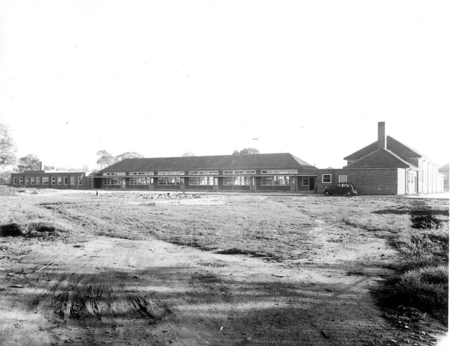 Hillmorton Paddox Primary School, Rugby, which was built in 1938. |  IMAGE LOCATION: (Rugby Library)