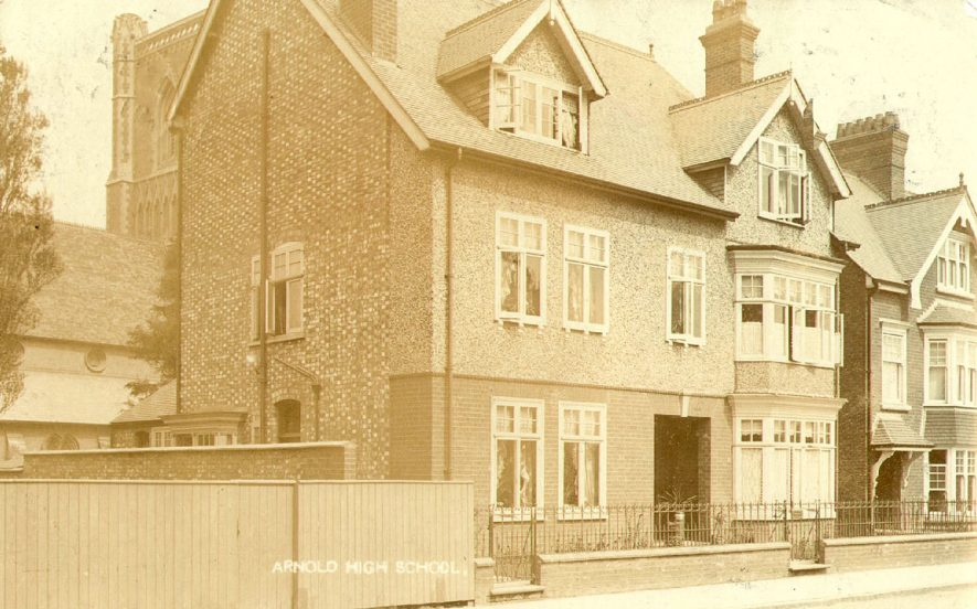 Arnold High School, Elsee Road, Rugby.  1900s |  IMAGE LOCATION: (Rugby Library)