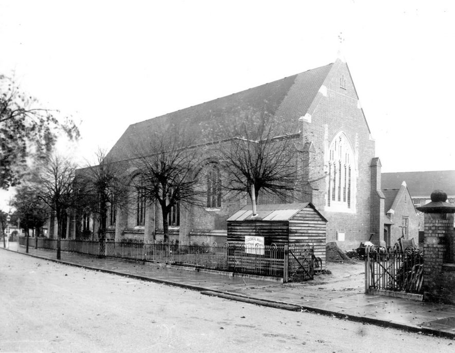 St Peter's Church, Rugby.  1933 |  IMAGE LOCATION: (Rugby Library)