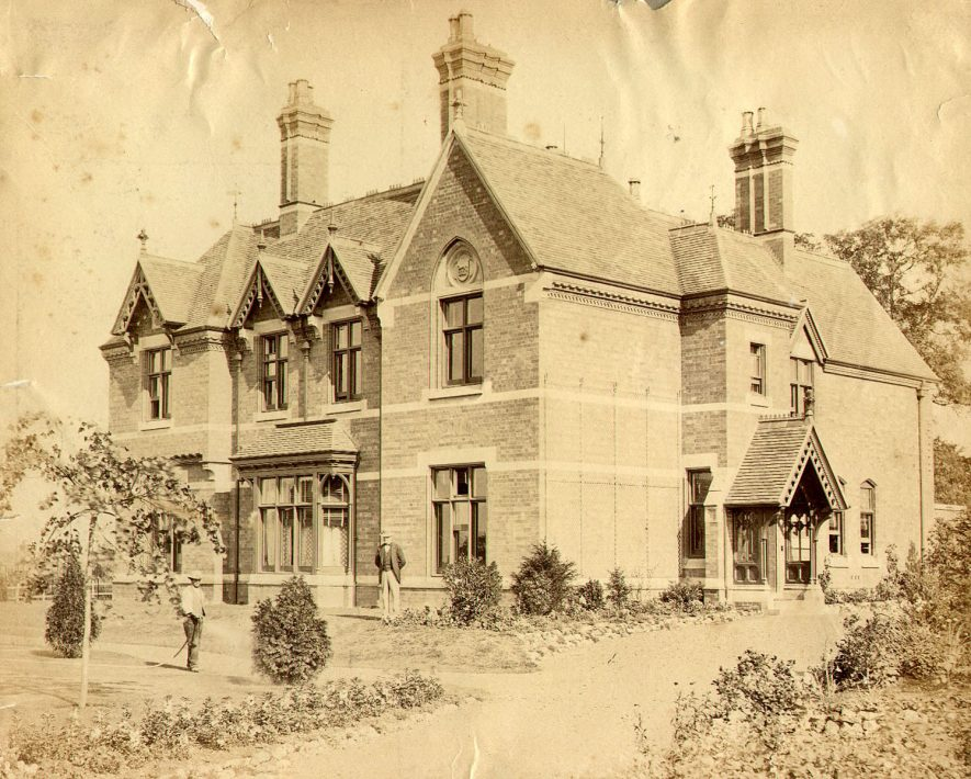Rosemount, Lawford Road, Rugby.  1900s |  IMAGE LOCATION: (Rugby Library)