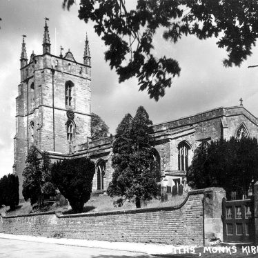 Monks Kirby.  Parish Church
