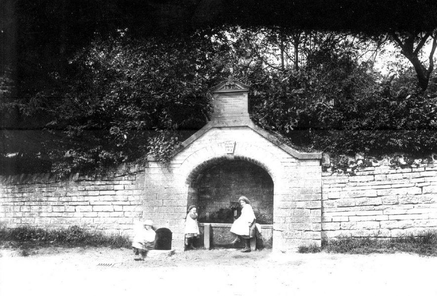 The Spring at Binton, erected in 1868. |  IMAGE LOCATION: (Warwickshire County Record Office)