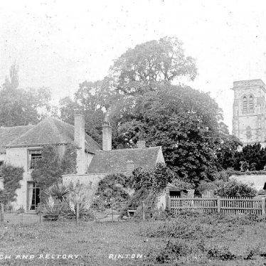 Binton.  Church and Rectory