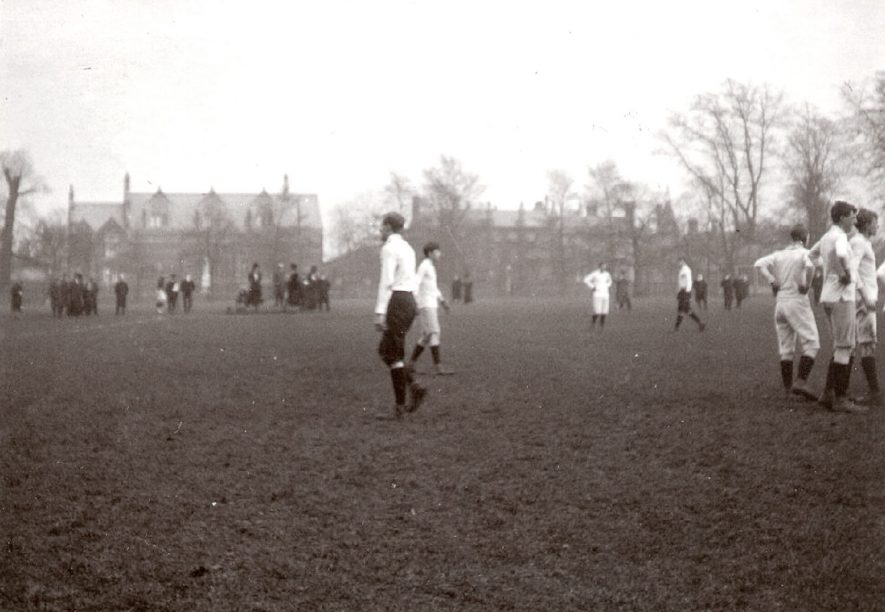 Rugby School football match against Manchester