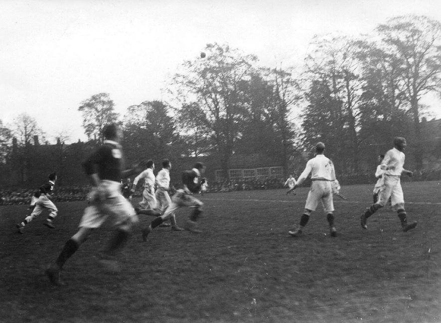 Rugby football centenary showing