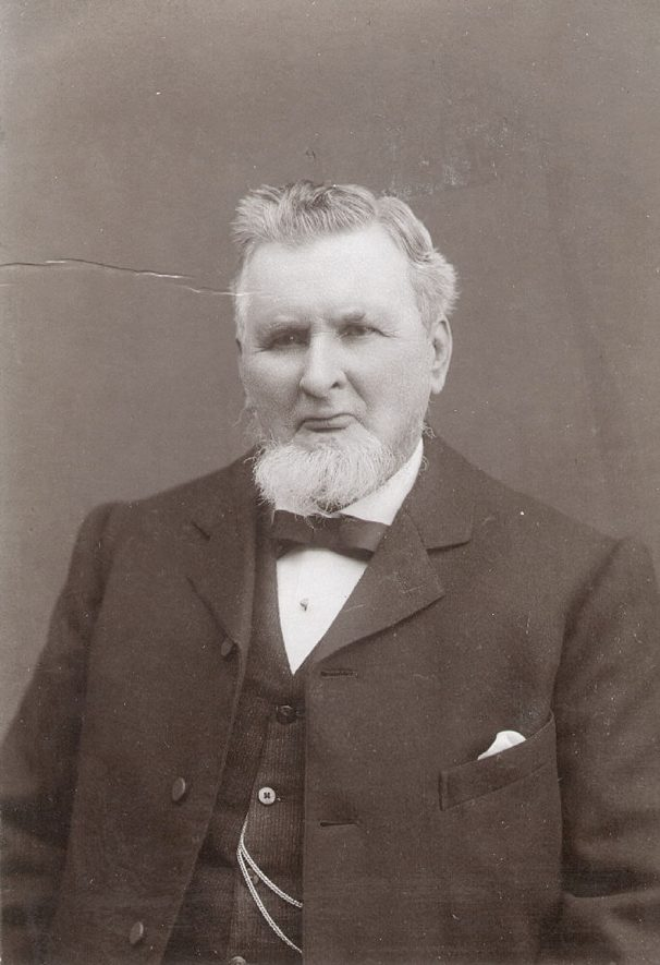 George Adams came to Rugby in 1851 and worked as a porter at the station. He was one of the earliest members of  the Co-operative Society and was appointed to the committee within twelve months of its establishment. It was due to the strenuous efforts of George Adams and others that the society was prevented from collapsing. In 1875 he became the first paid secretary and resigned from the railway. He died on April 17th 1908 aged 78.  1900s |  IMAGE LOCATION: (Rugby Library) PEOPLE IN PHOTO: Adams, George, Adams as a surname