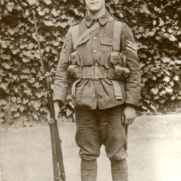 Rugby.  Sergeant A. Ashworth