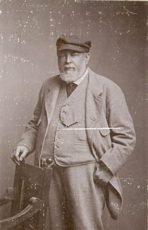 David Buchanan was born in 1829 and educated at Rugby School and Cambridge. He lived at Northfield House, Newbold Road, from 1868 until his death at the age of 71 on May 30th 1900. An all round sportsman he played cricket for the