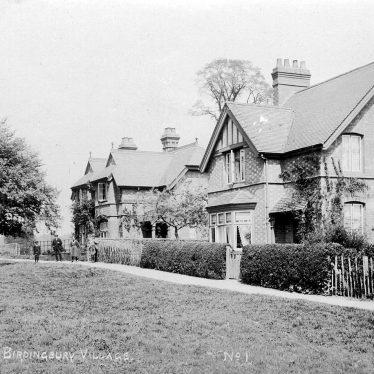 Birdingbury.  Houses
