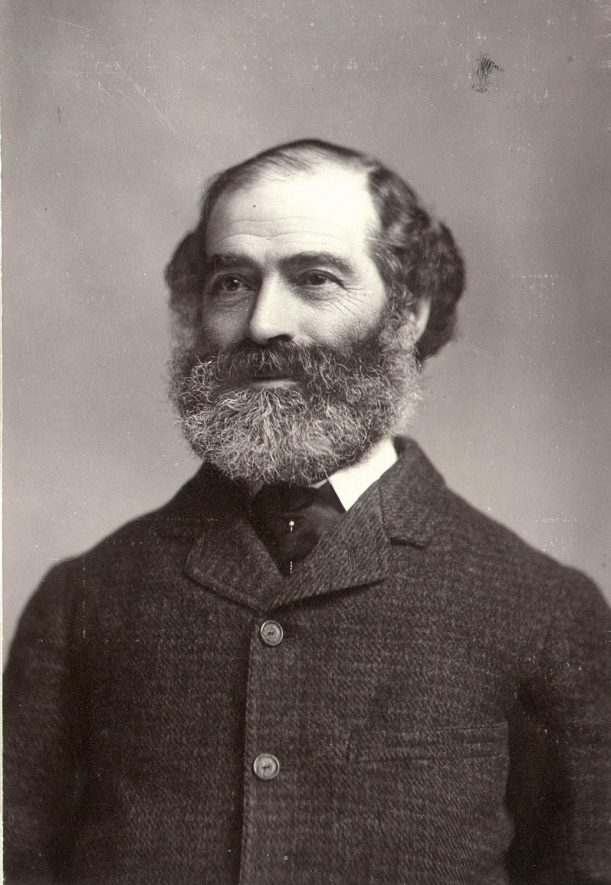 Mr Frederick Fuller, solicitor who practised in Church Street, Rugby.  1880s |  IMAGE LOCATION: (Rugby Library) PEOPLE IN PHOTO: Fuller as a surname, Fuller, Frederick