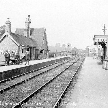 Birdingbury.  Railway Station