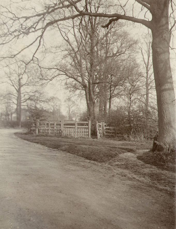 The old cattle pound in Newbold Road, Rugby. Photographed by F.J. Gibson, 1910s |  IMAGE LOCATION: (Rugby Library)