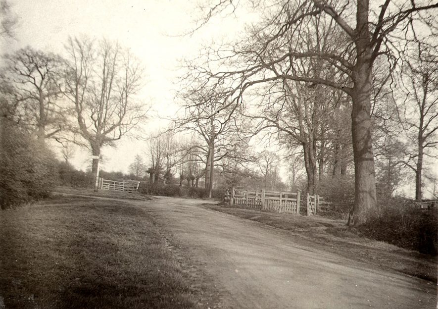 The old cattle pound in Newbold Road, Rugby. Photographed by F.J. Gibson, 1910 |  IMAGE LOCATION: (Rugby Library)