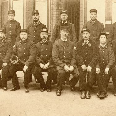 Rugby.  L & N.W.R. staff