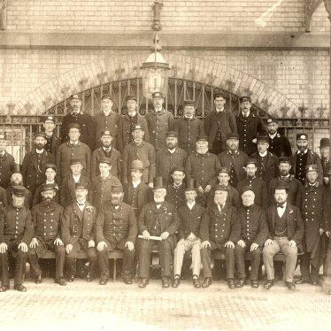 Rugby.  L.& N.W.R. staff