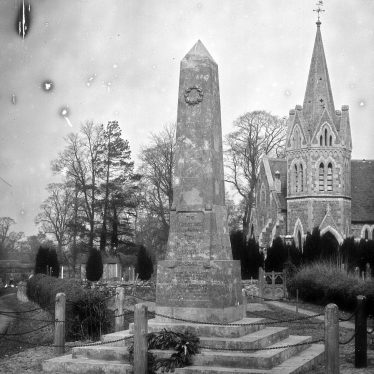 Shuckburgh. War Memorial and Church