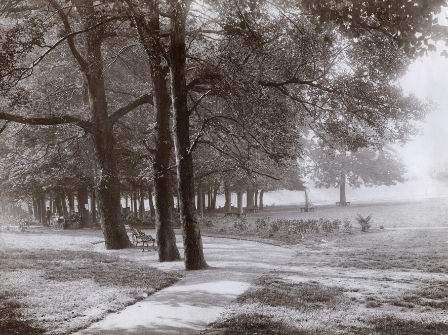 View in Caldecott Park, Rugby, which was opened in 1904. |  IMAGE LOCATION: (Rugby Library)