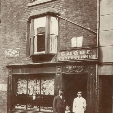 Rugby.  Goode's Confectioners Shop